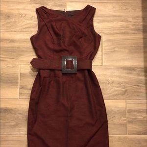 Size 4 burgundy David Meister dress